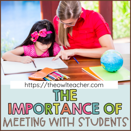 During math workshop, you have to meet with students either through guided math groups or through one-to-one conferences. Check out this post to learn about how to make this important part of guided math successful!
