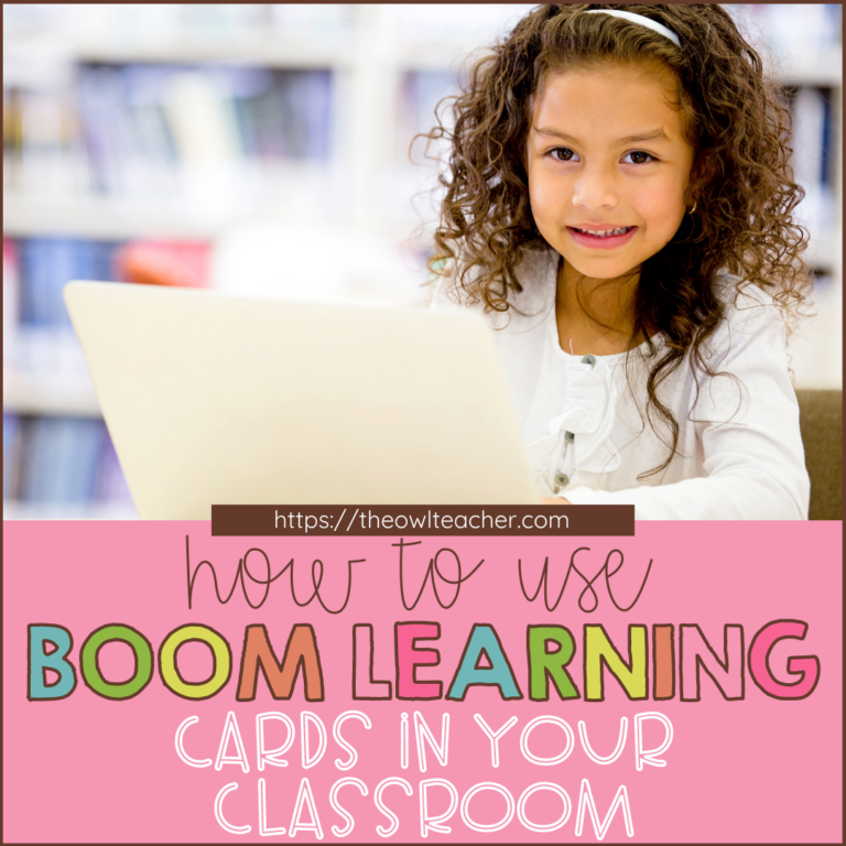 Have you heard about Boom Learning Cards, but wasn't exactly sure what they were or how to use them? This post covers everything you need to know to get started in the classroom with Boom Decks and to get started! Save this pin and click through now.
