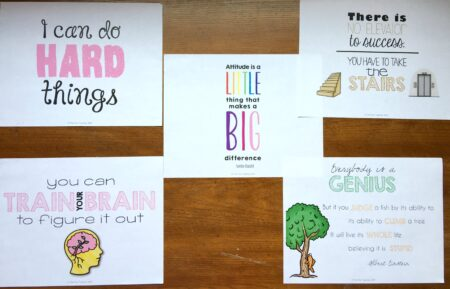 Having a Growth Mindset is one way to increase student growth during math workshop! Check out this post to find out the other ways!
