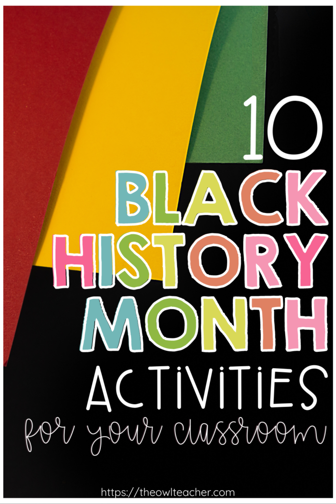 Are you looking for some Black History Month activities beyond just reading passages for your upper elementary students? Check out these Black History Month ideas for 3rd grade, 4th grade, and 5th grade that will engage your students and help show what they learned. Plus grab a freebie!