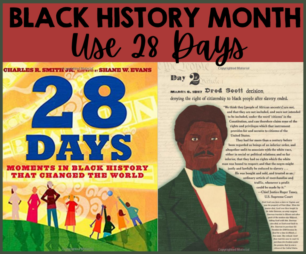 This post contains ideas for Teaching Black History Month activities! Head to the post to learn more and to grab some freebies!