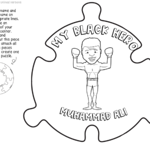 Black History Month Activity – Black Hero Puzzle