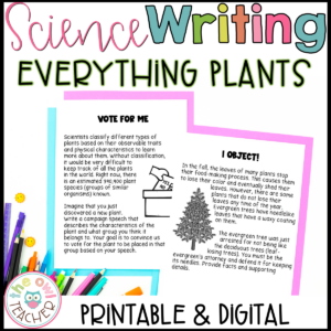 Creative Plant Writing | Science Writing | Writing about Plants