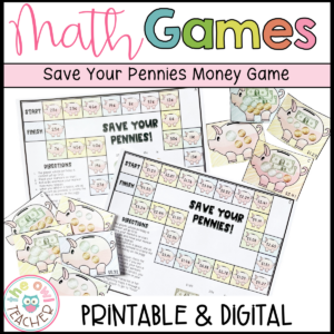 Money Math Game | Counting Money in Least Amount of Coins Game