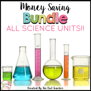 Ultimate Science Lesson Plan Units BUNDLE