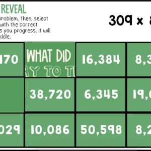 Multi-digit Multiplication | Large Numbers Multiplication | Riddle Reveal Boom