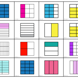 Equivalent Fractions Memory Game Digital & Printable | Concentration